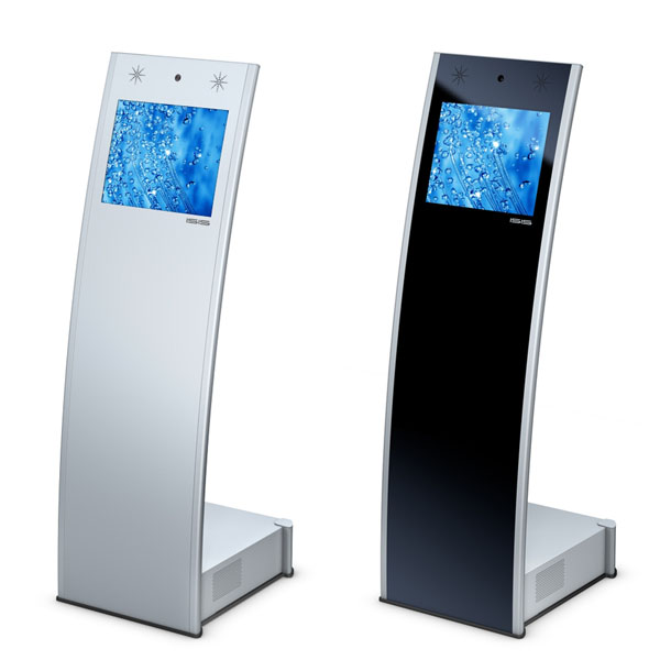 Trade Show Booth Kiosks : Super slim touch screen kiosk trade show osk